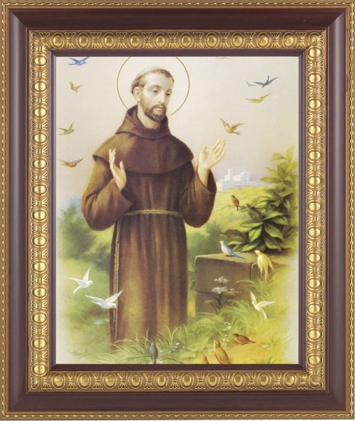 St. Francis of Assisi Framed Print - #126 Frame