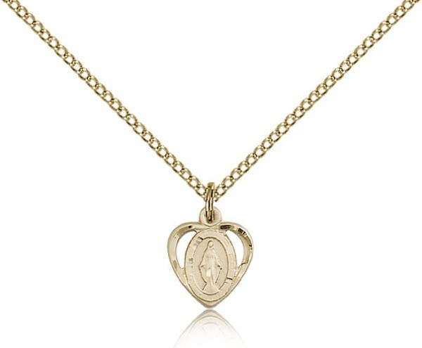 Baby Miraculous Medal - 14KT Gold Filled