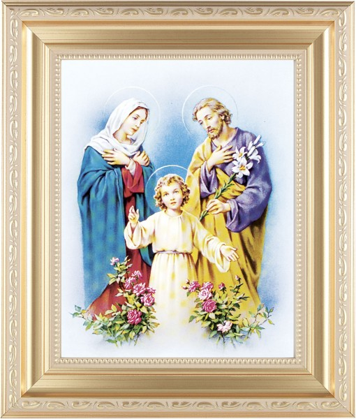 Holy Family Framed Print - #138 Frame