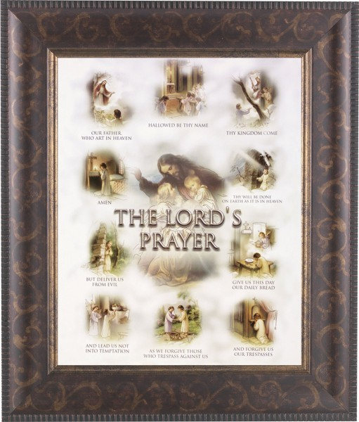 The Lord's Prayer Framed Print - #124 Frame