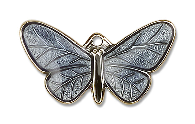 Butterfly Resurrection Pendant - 14K Yellow Gold