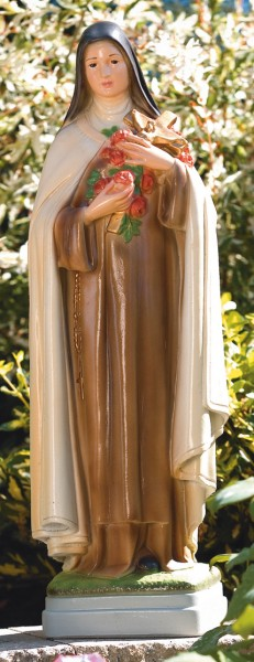 Thérèse of Lisieux Statue 25 Inches - Detailed Color Finish