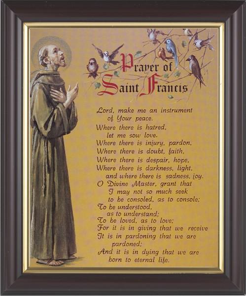 Shocking image intended for st francis prayer printable