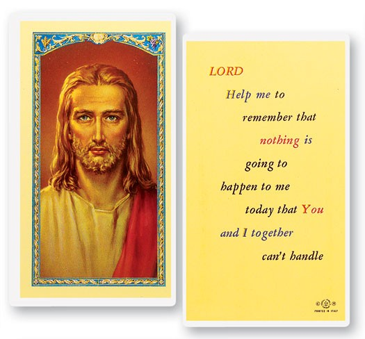 Lord Help Me To Remember Laminated Prayer Cards 25 Pack - Full Color