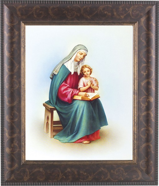 St. Anne and Mary Framed Print - #124 Frame