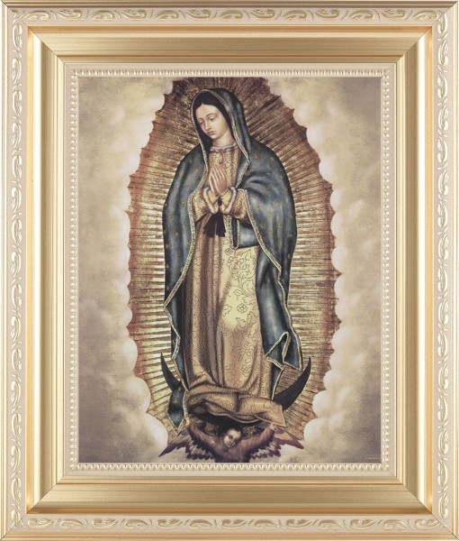 138 Frame Our Lady Of Guadalupe Framed Print