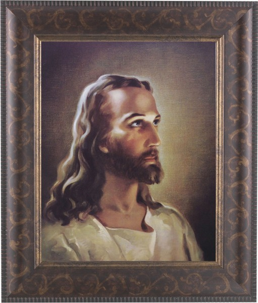 Portrait of Christ Framed Print - #124 Frame