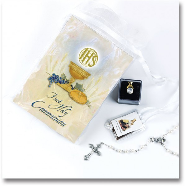 Deluxe First Communion Gift Set - Girl - Multi-Color