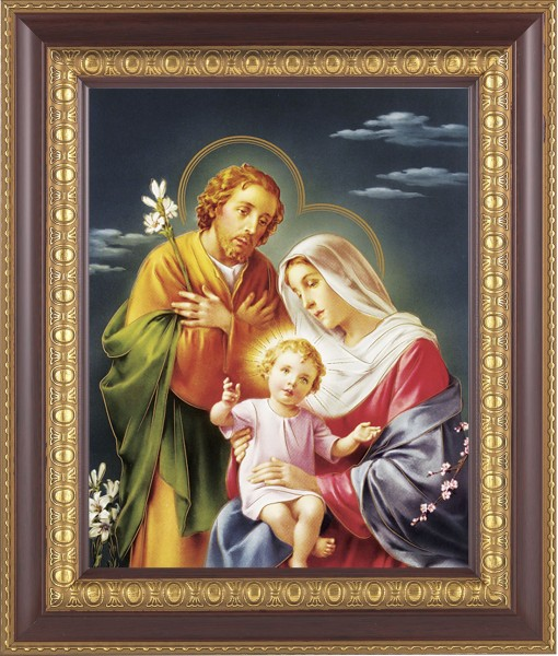 Holy Family Framed Print - #126 Frame
