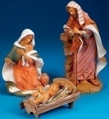 Holy Family Nativity Figures - 18 inch - Multi-Color