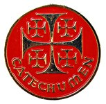 Catechumen Pin - Red