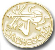 Orchestra Pin - Gold Tone