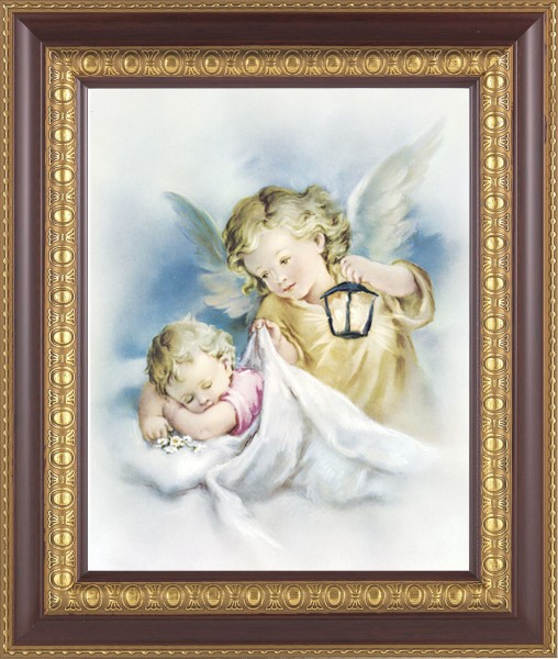 Guardian Angel Watching Over Me Framed Print - #126 Frame