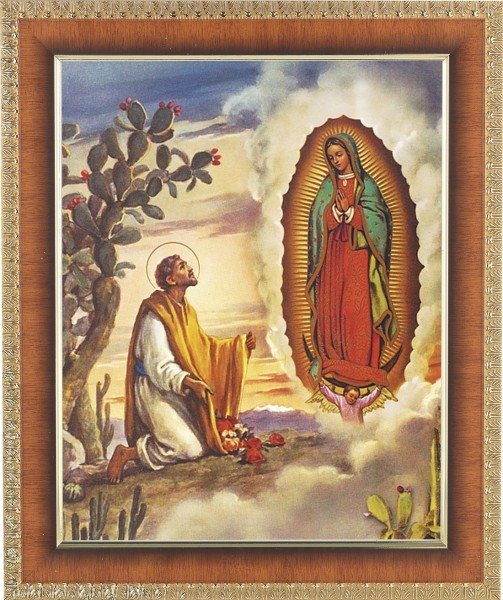 Our Lady of Guadalupe Framed Print - #122 Frame