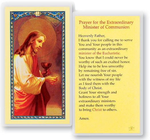 Prayer To The Minister Laminated Prayer Cards 25 Pack - Full Color
