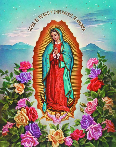 Our Lady of Guadalupe Print - Sold in 3 per pack - Multi-Color
