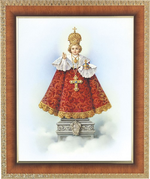 Infant of Prague Framed Print - #122 Frame
