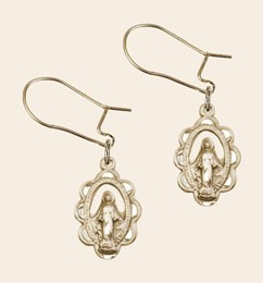 Miraculous Dangle Earrings - Gold