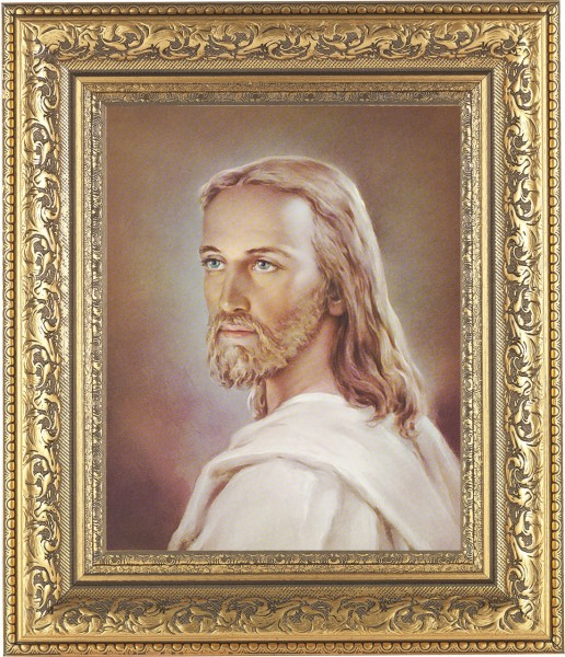 Portrait of Jesus Framed Print - #115 Frame