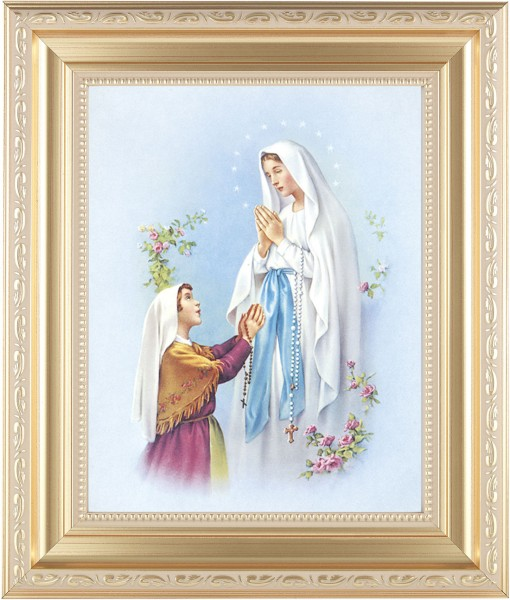 Our Lady of Fatima Framed Print - #138 Frame