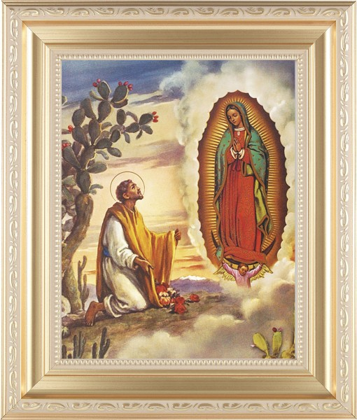 Our Lady of Guadalupe Framed Print - #138 Frame