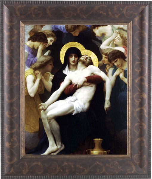 Our Lady of Sorrows Framed Print - #124 Frame