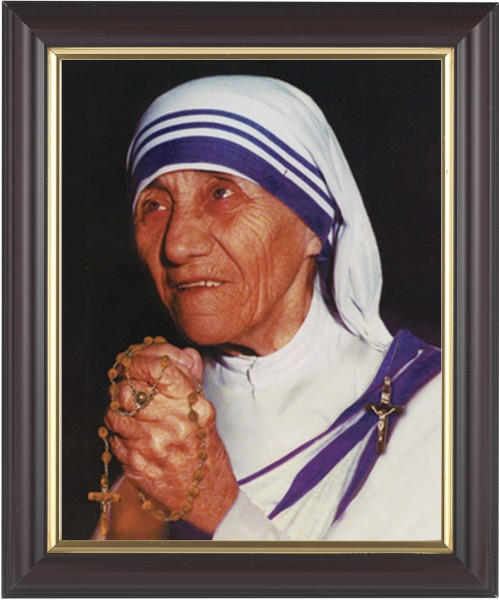 Mother Teresa Framed Print - #133 Frame
