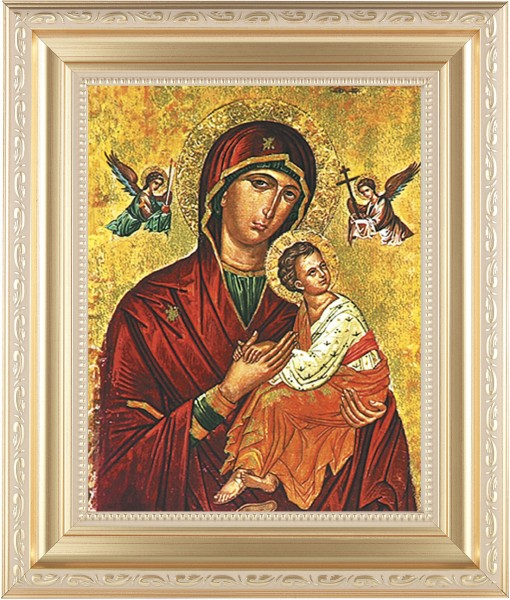 Our Lady of Vladimir Framed Print - #138 Frame