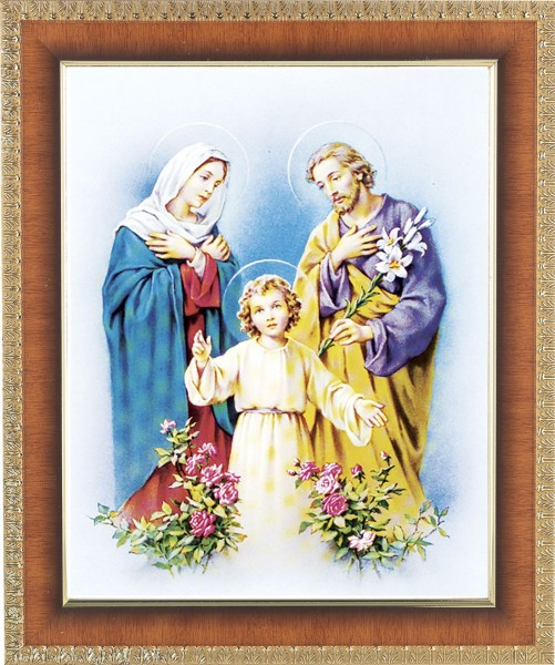 Holy Family Framed Print - #122 Frame