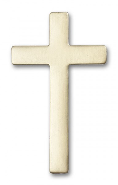 Cross Visor Clip - Antique Gold