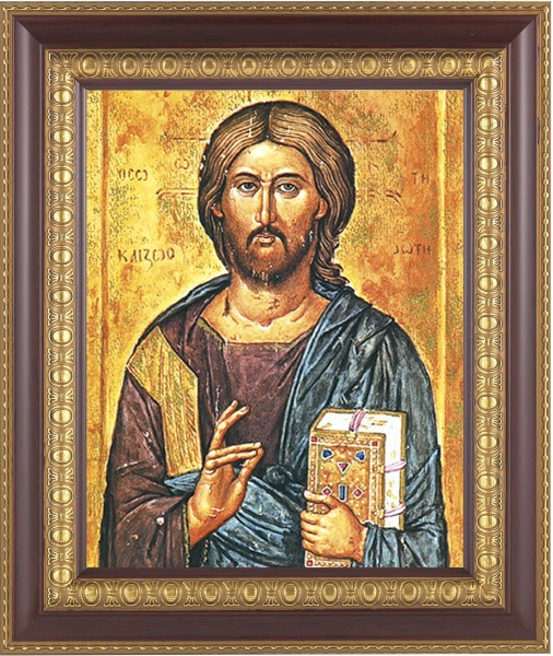 Christ the Teacher Framed Print - #126 Frame