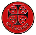 Catechist Pin - Red