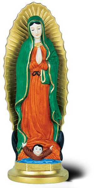 "Our Lady of Guadalupe Statue - 8""H - Full Color"