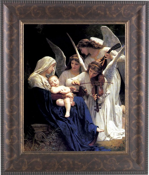 Heavenly Melody Madonna Framed Print - #124 Frame