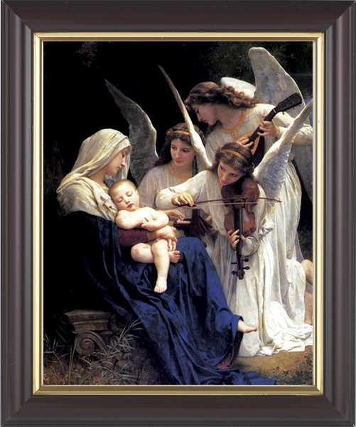Heavenly Melody Madonna Framed Print - #133 Frame
