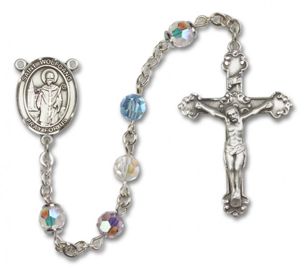 St. Wolfgang Rosary Heirloom Fancy Crucifix - Multi-Color