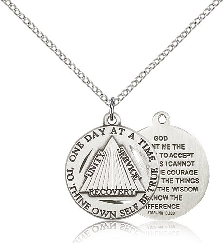 Women's Recovery Medal - Sterling Silver