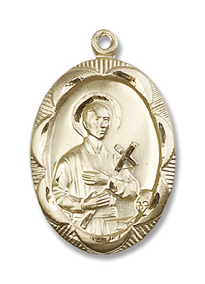 St. Gerard Medal - 14K Yellow Gold