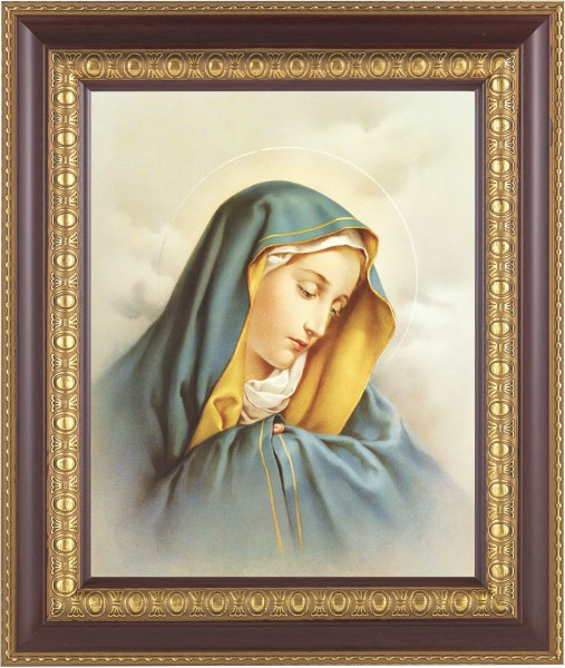 Sorrowful Mary Framed Print - #126 Frame