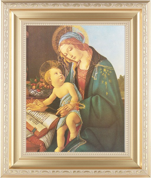 Madonna and Child renaissance Framed Print - #138 Frame