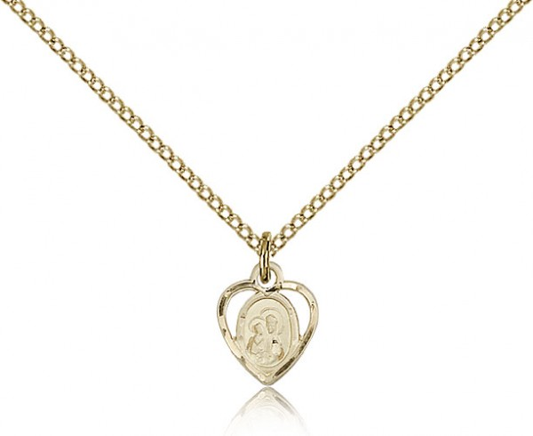 Our Lady of Perpetual Help Medal - 14KT Gold Filled