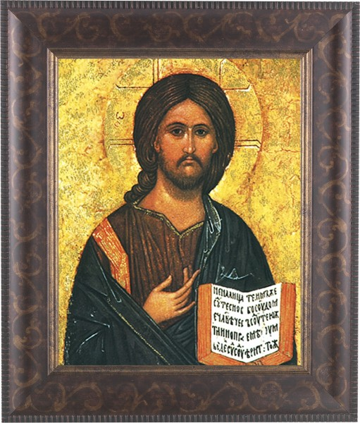 Christ the Teacher Framed Print - #124 Frame