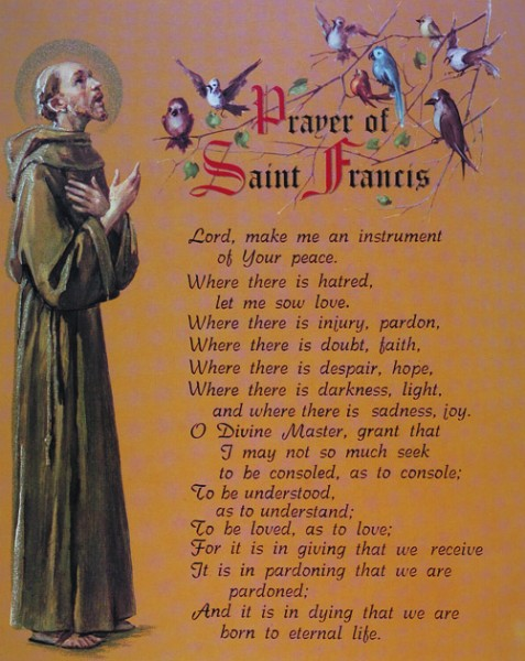 Prayer of St. Francis Print Cardstock - 3 per pack - Multi-Color