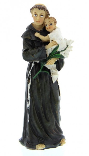 "St. Anthony Statue 3.5"" - Brown"