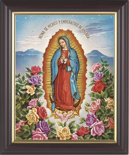 Our Lady of Guadalupe Framed Print - #133 Frame
