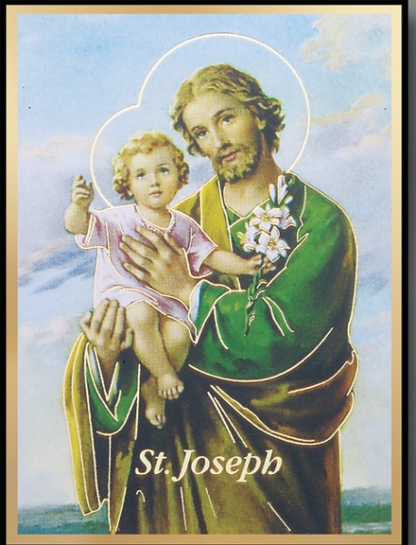 St. Joseph Magnetic Frame 4 Per Pack - Full Color