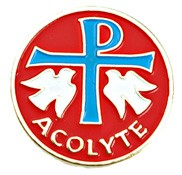 Acolyte Lapel Pin - Red
