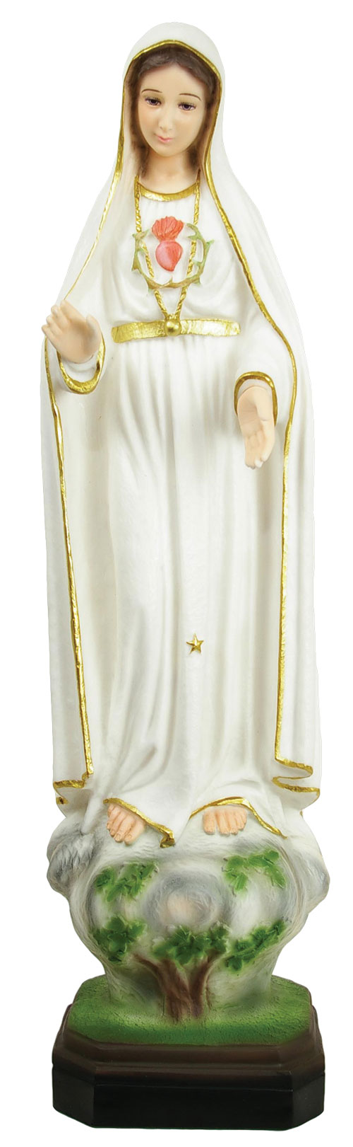 Our Lady of Fatima Statue 27 Inch - Full Color