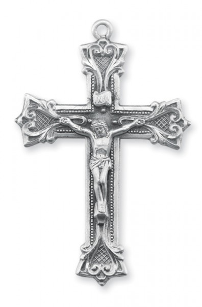 Sterling Silver Rosary Crucifix - Sterling Silver
