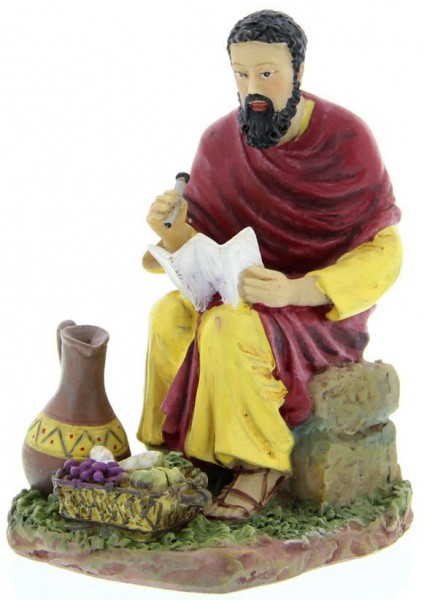 "St. Matthew Statue 3.5"" - Red"